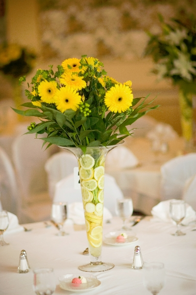 Spring Wedding Arrangements
