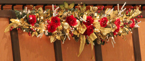 christmas centerpieces - Christmas Flower Decorations